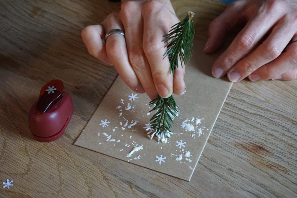Gemalte Weihnachtskarten.Diy Weihnachtskarten Basteln Im Advent Reges Leben