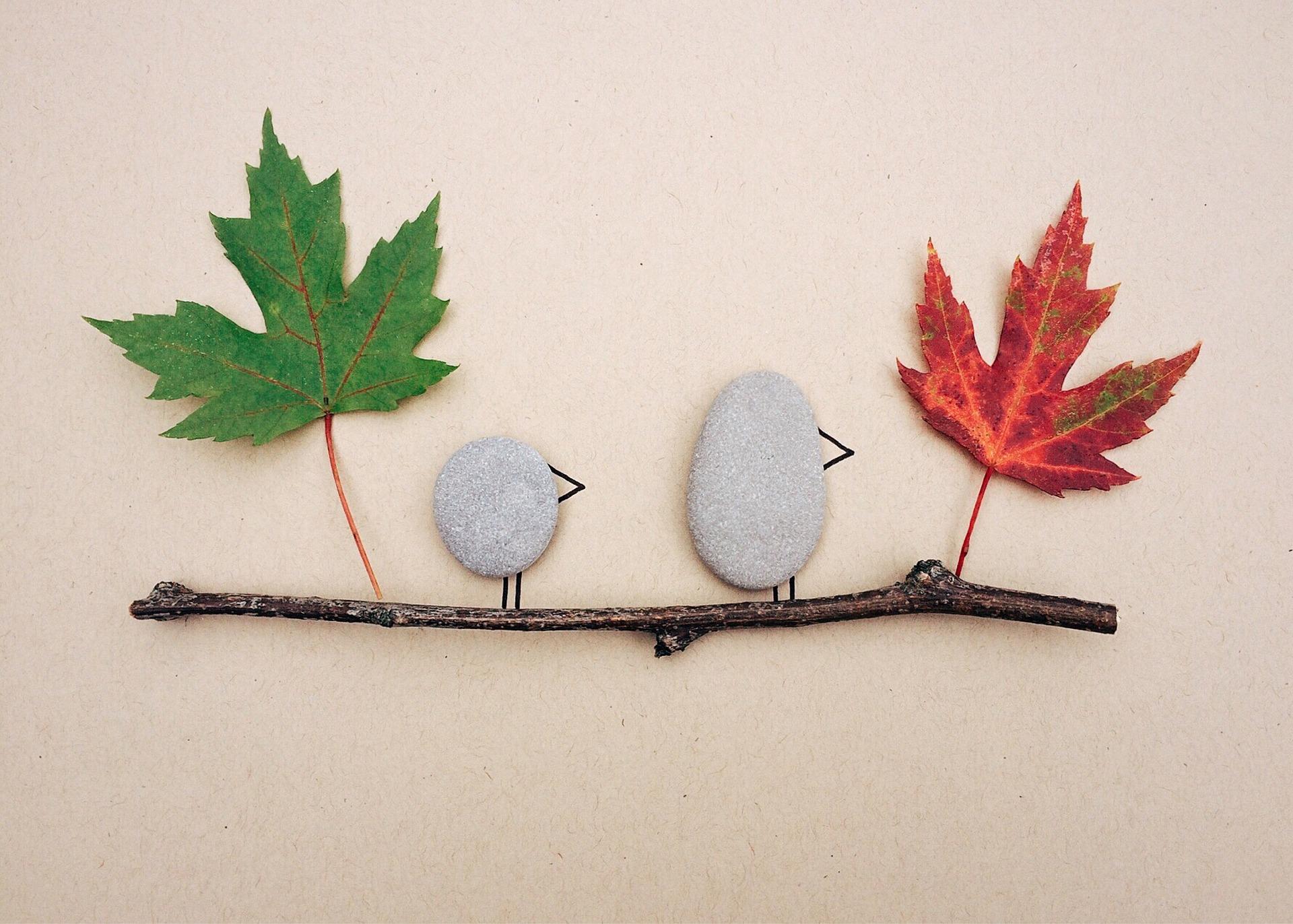 Basteln Mit Naturmaterialien Tolle Ideen Für Den Herbst