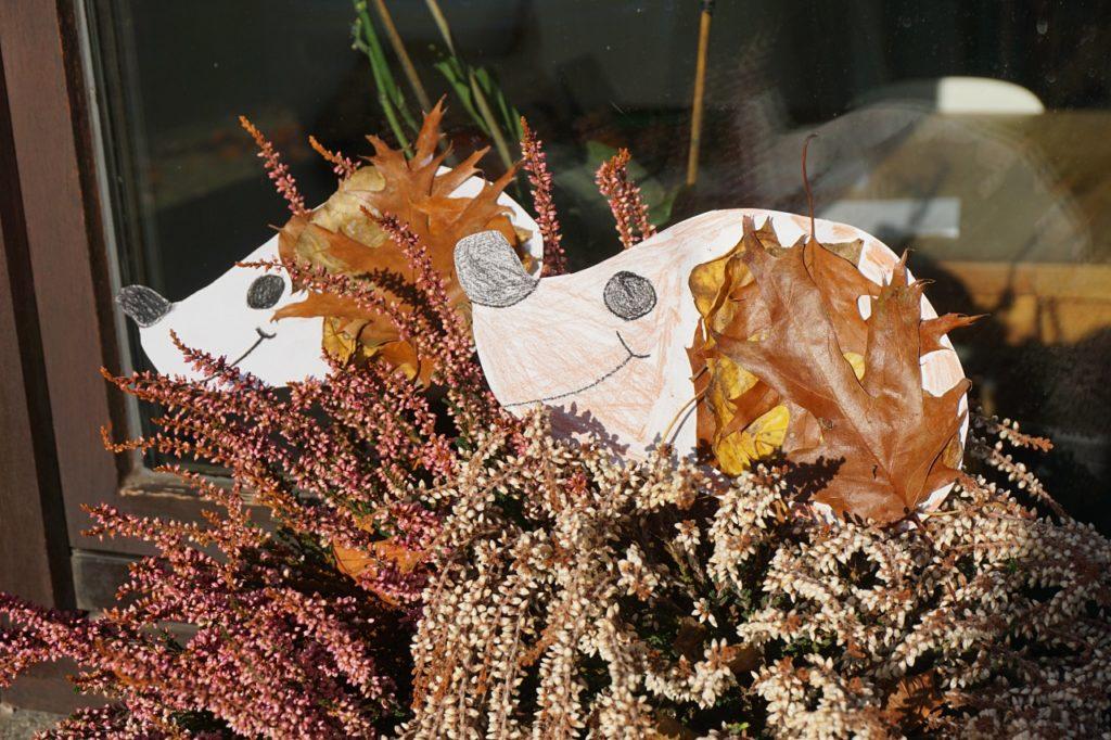 Herbstbasteln Mit Kindergarten Kindern Diy Herbst Reges